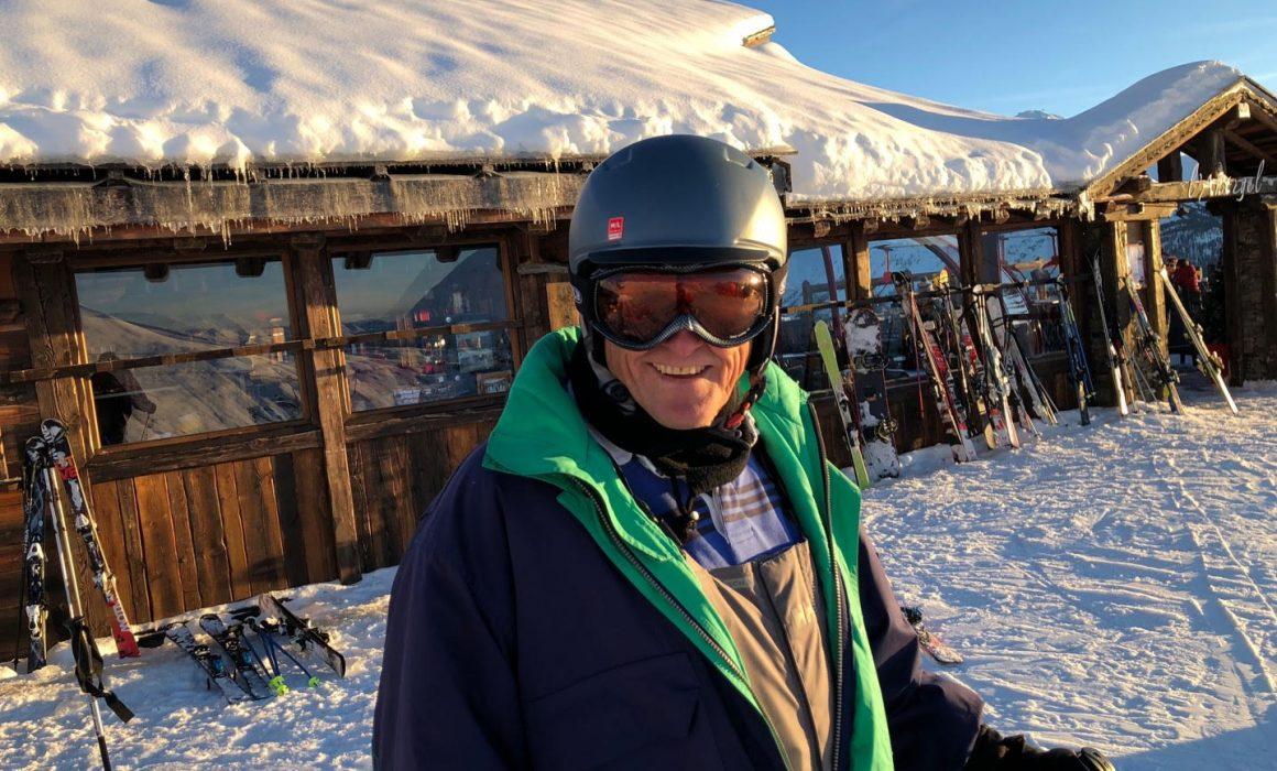 peter colclough ski ACL injury