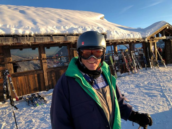 peter colclough ski ACL injury