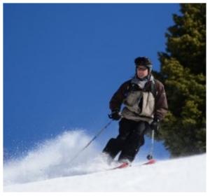 MS-skiing